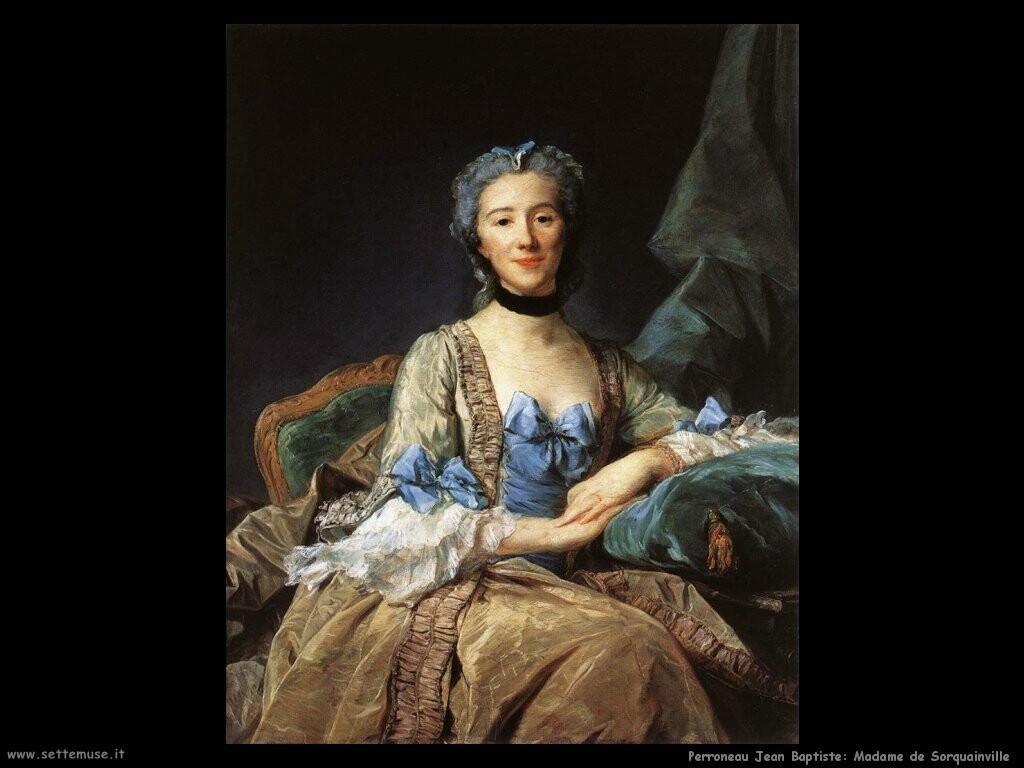 perroneau jean baptiste  Ritratto di madame de Sorquanville