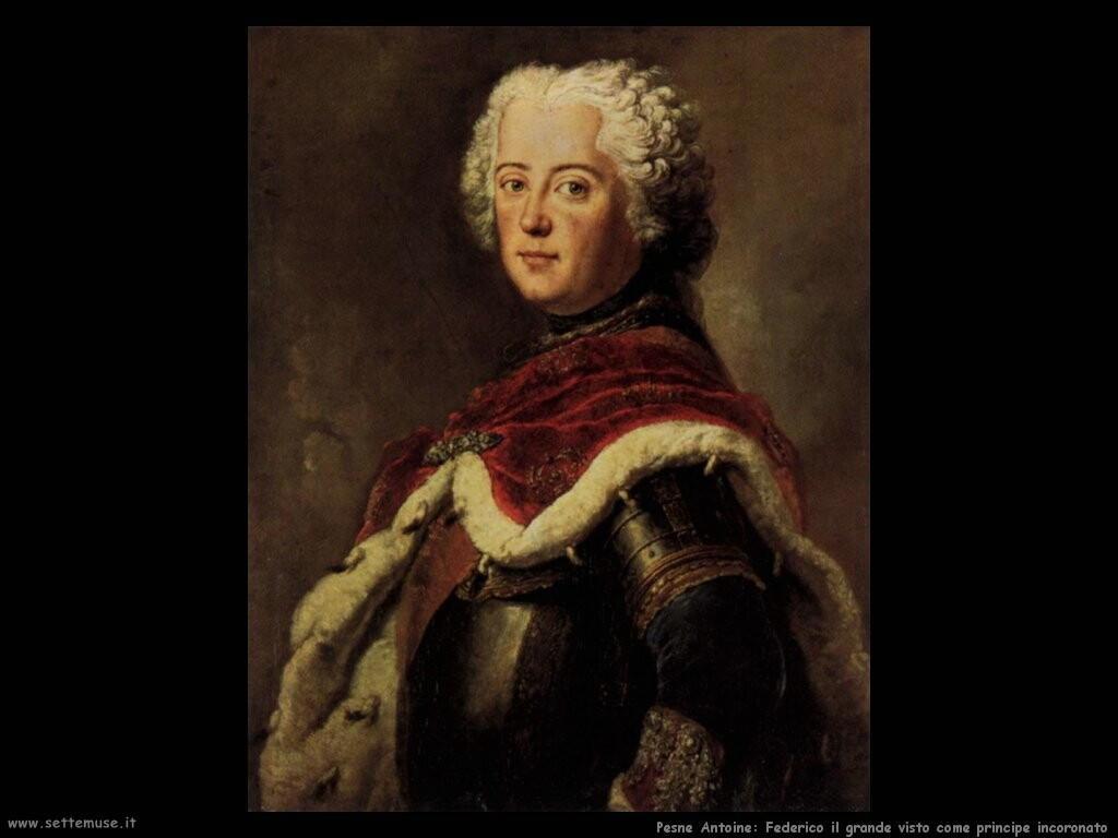 pesne antoine  Frederick il grande come principe incoronato