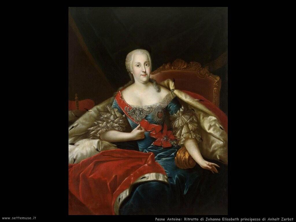 pesne antoine Ritratto di Johanna Elisabeth principessa di Anhalt Zerbst