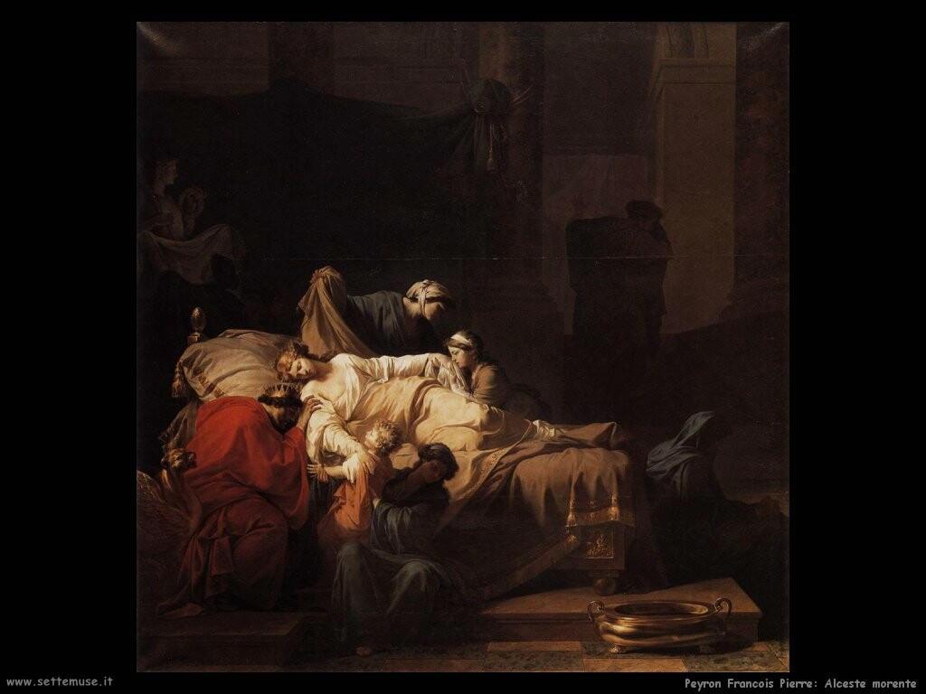 peyron jean francois pierre Alceste morente