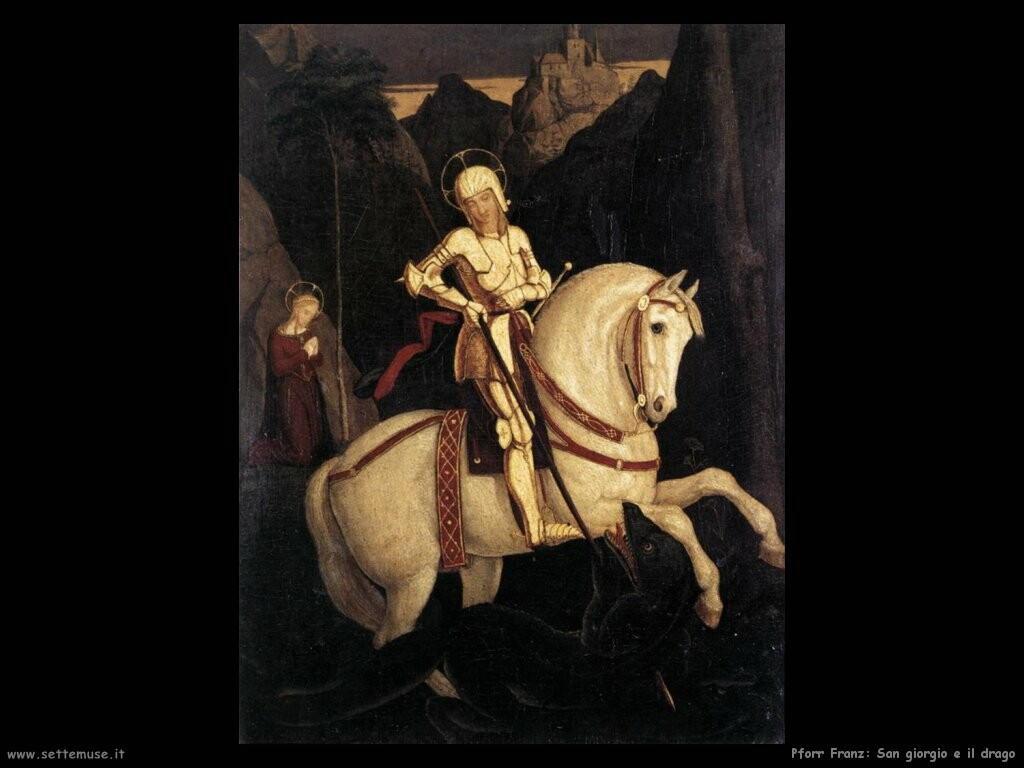 pforr franz San Giorgio e il drago