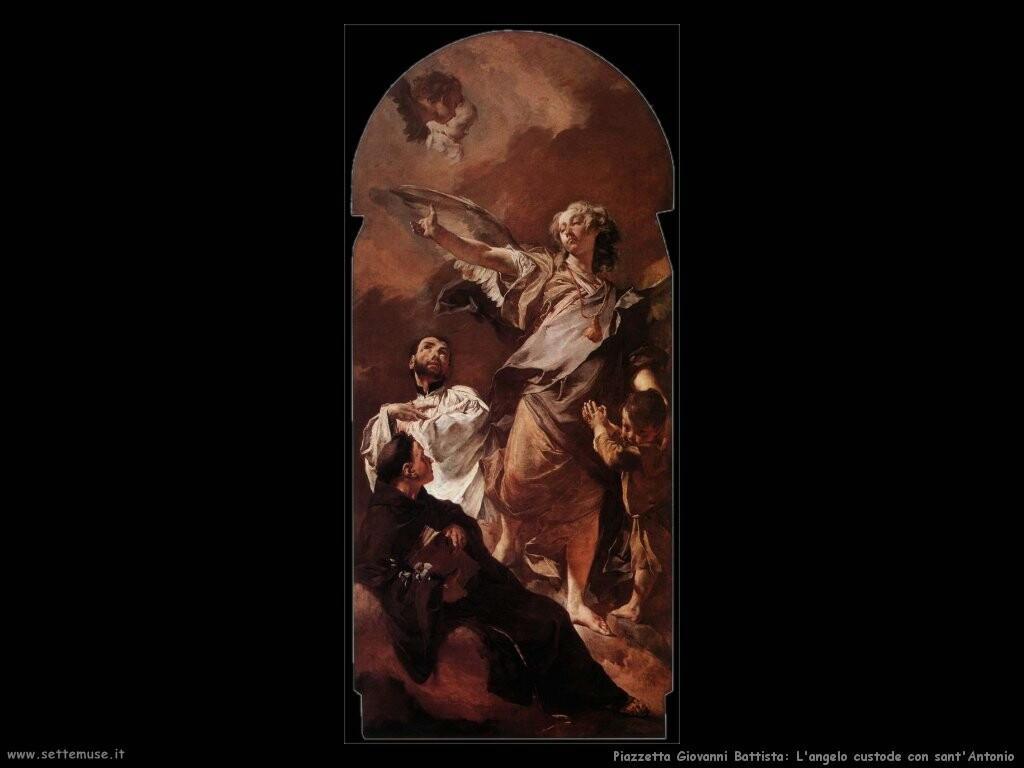 piazzetta giovanni battista Angelo custode con sant'Antonio