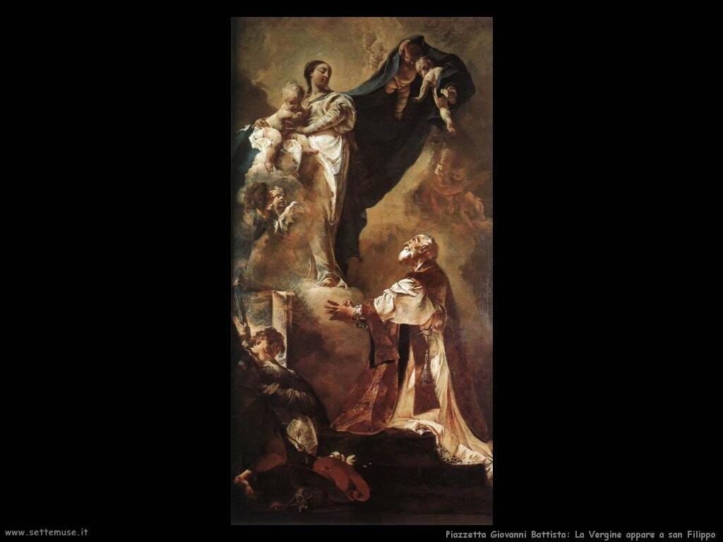 piazzetta giovanni battista  La Vergine appare a san Filippo