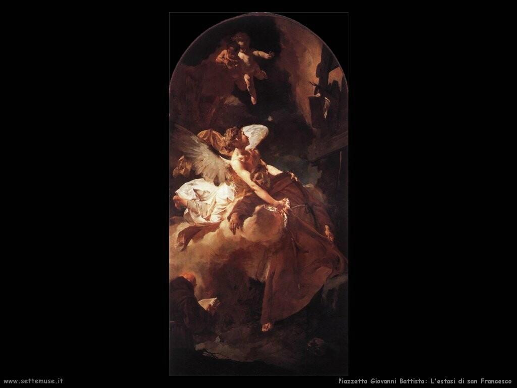 piazzetta giovanni battista L'estasi di san Francesco