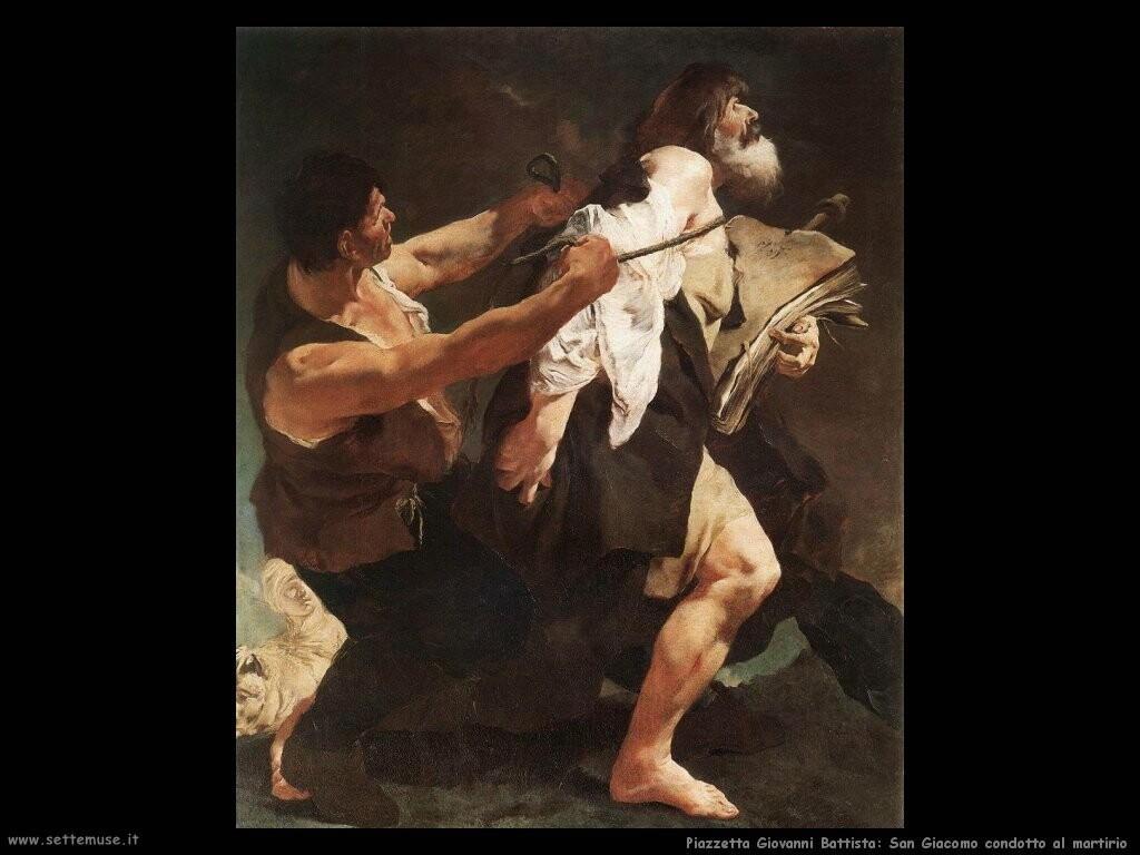 piazzetta giovanni battista San Giacomo condotto al martirio