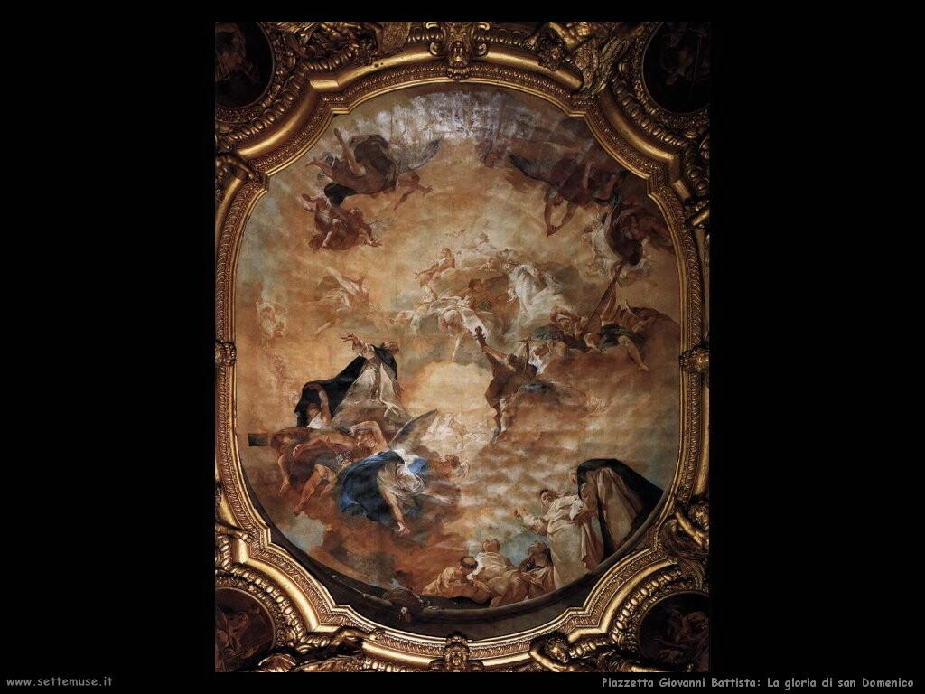 piazzetta giovanni battista La gloria di san Domenico