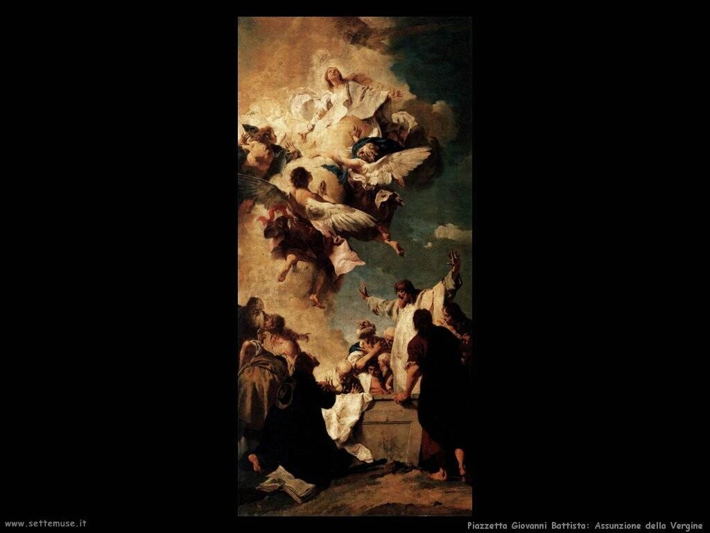 piazzetta giovanni battista   Assunzione della Vergine