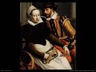pietersz pieter  Uomo e donna all'arcolaio