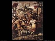 pietersz pieter Tre giovani tra le fiamme della fornace (1575)