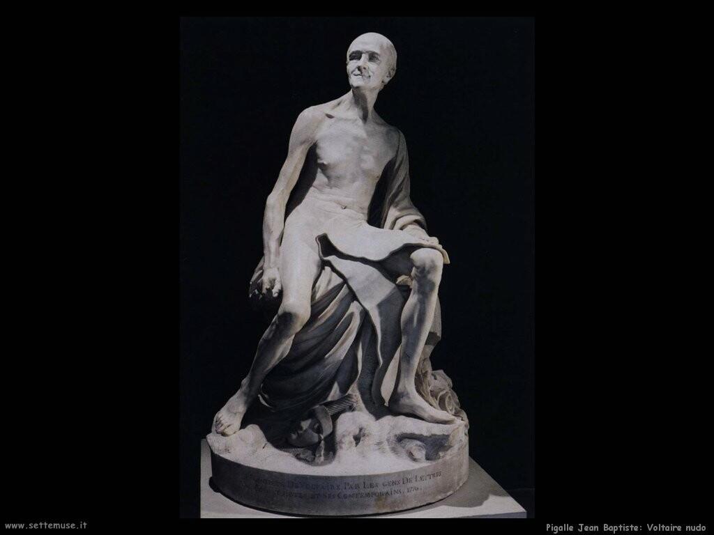 pigalle jean baptiste Voltaire nudo