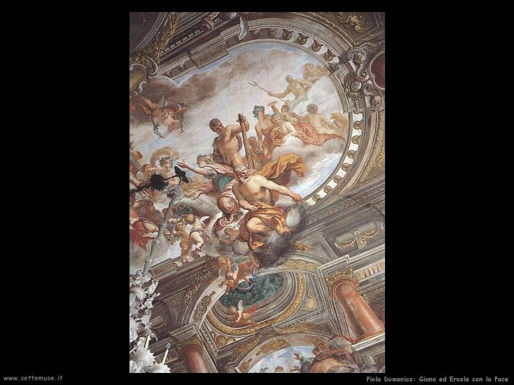 piola domenico  Giano ed Ercole con la Pace