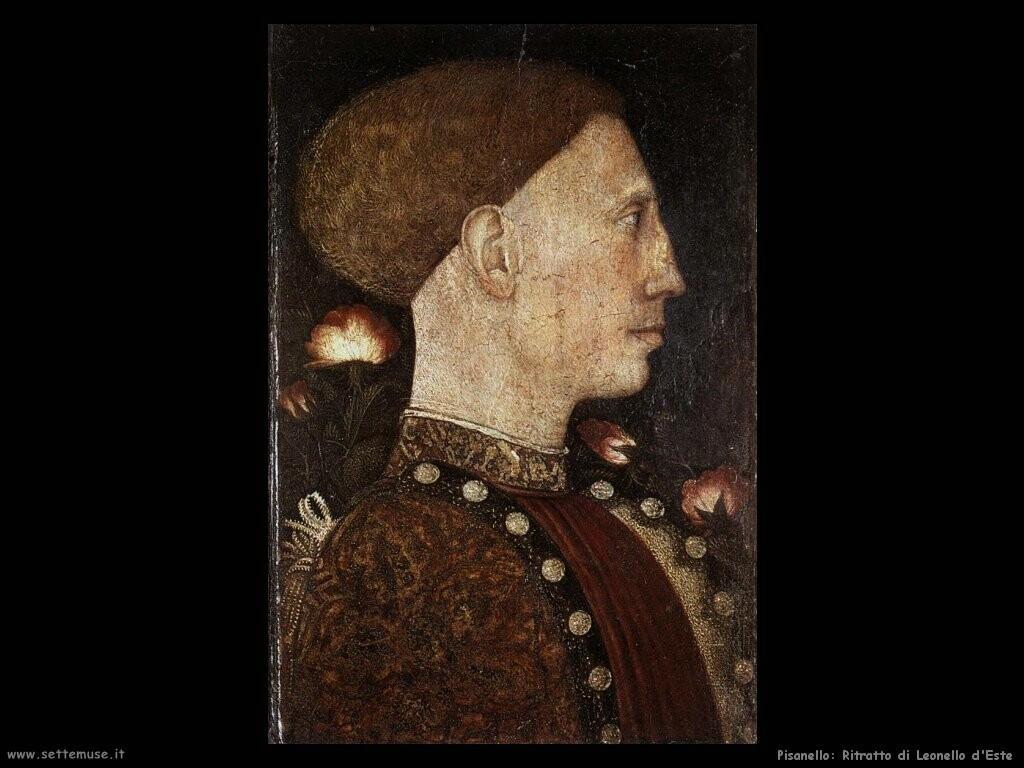pisanello  Ritratto di Leonello d'Este