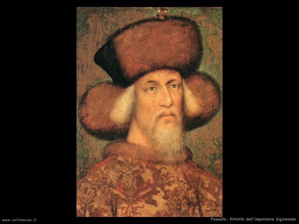 pisanello Ritratto dell'imperatore Sigismund