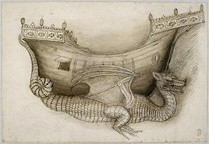 dragone di Pisanello