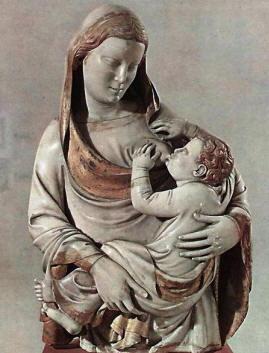 Madonna del Latte di Andrea d'Ugolino da Pontedera