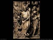 pisano nicola  Rilievo con Cristo e apocalisse