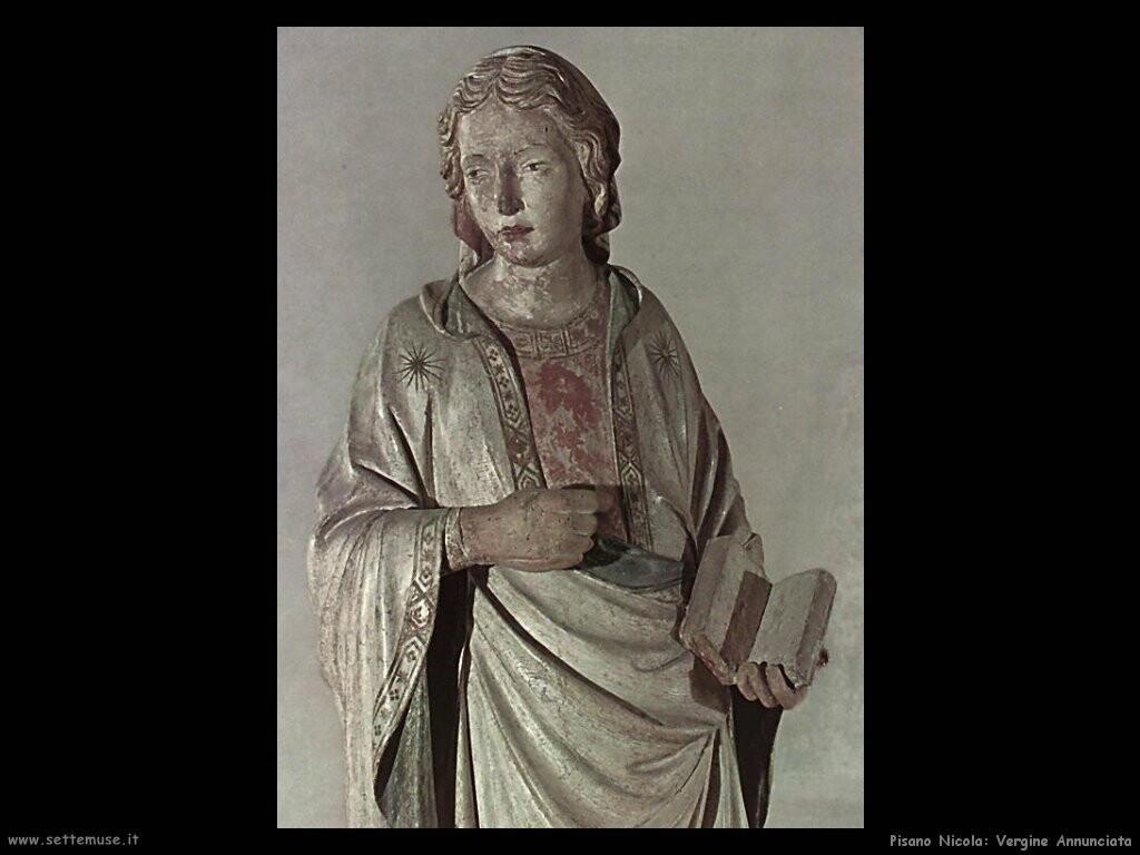pisano nicola  Vergine annunciata