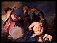 pittoni giambattista Sacrificio di Isacco