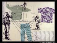 Polke Sigmar Abbigliamento su misura (1997)