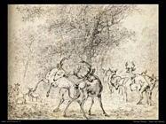 potter paulus  Cervo nel bosco