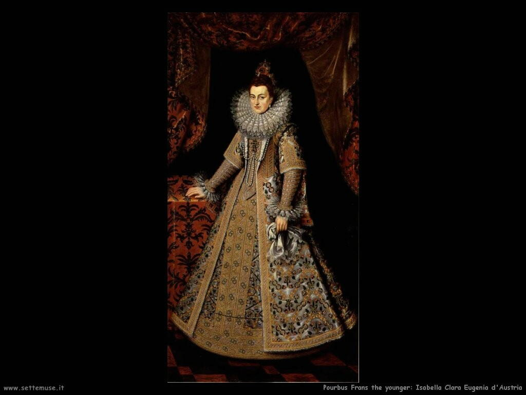 Pourbus Frans the younger Isabella Clara Eugenia d'Austria