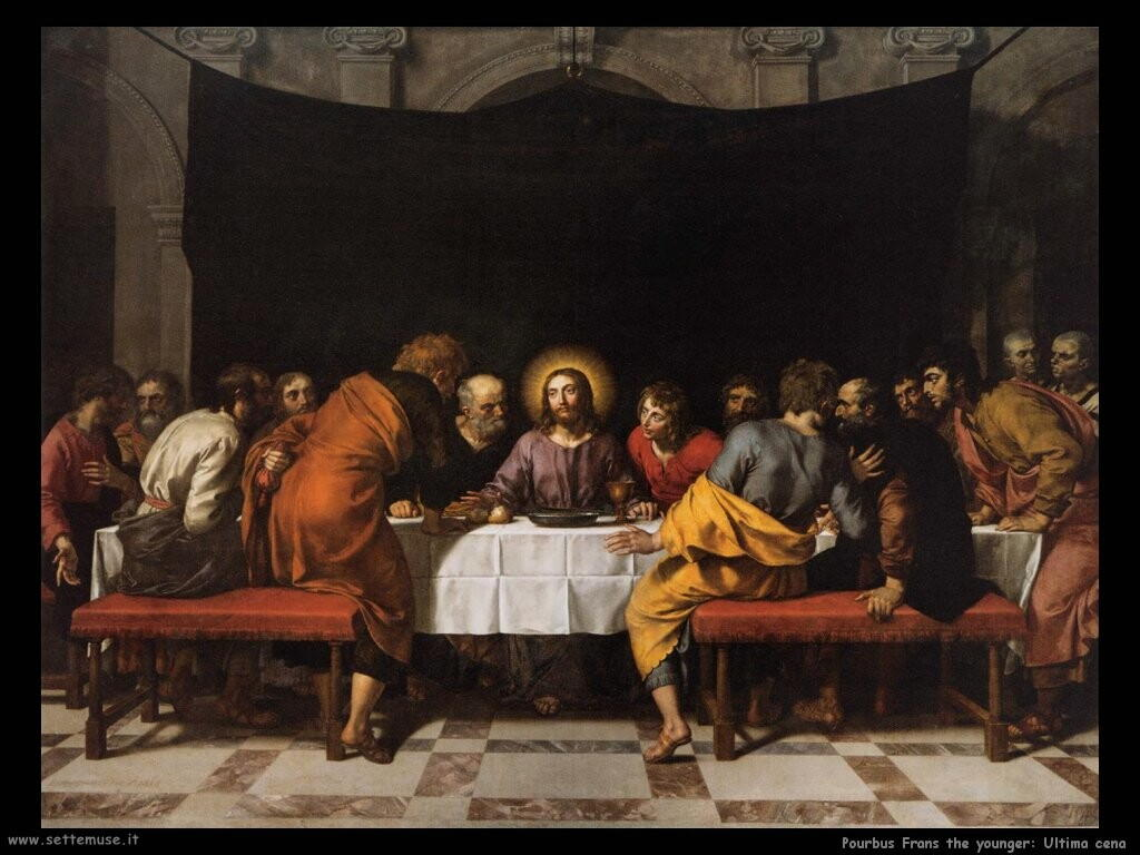Pourbus Frans the younger L'ultima cena
