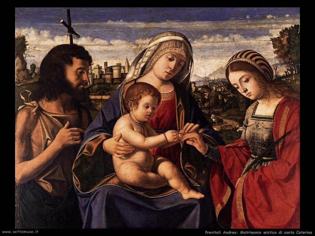 previtali_andrea Matrimonio mistico di santa Caterina