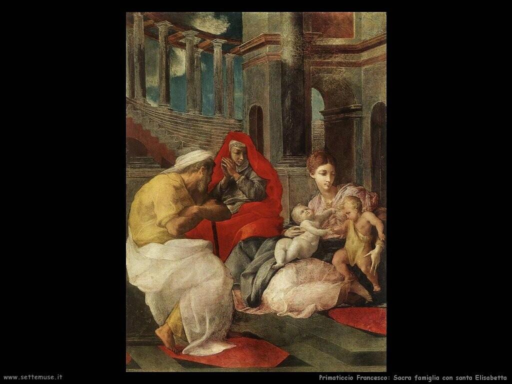 primaticcio_francesco_La sacra famiglia con santa Elisabetta