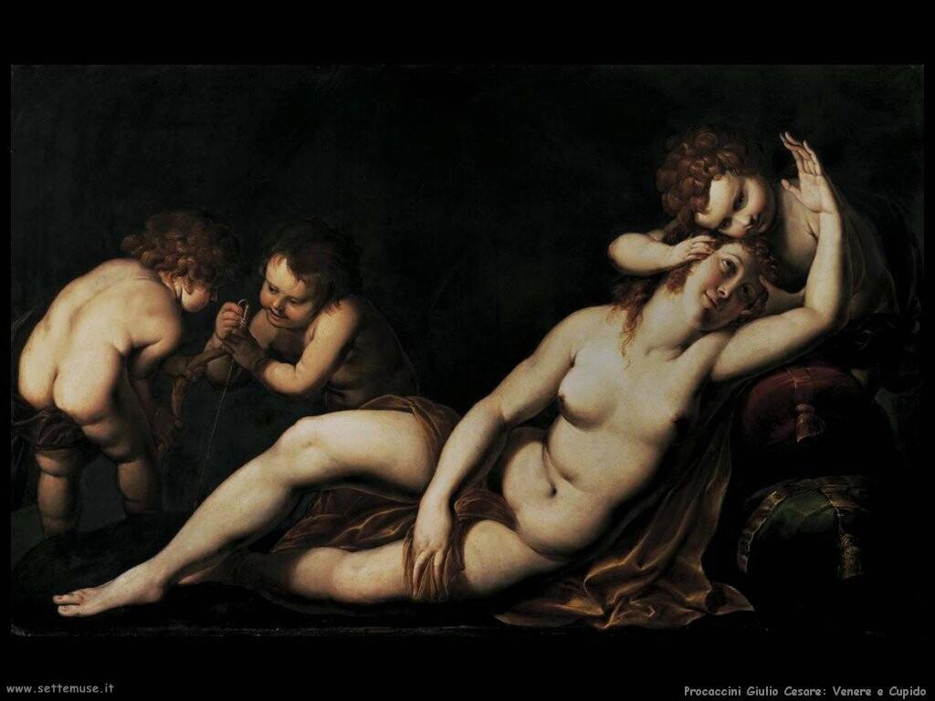 procaccini_giulio_cesare Venere e Cupido