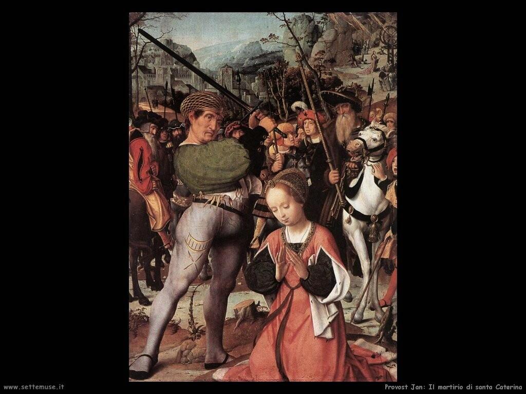 provost jan Martirio di santa Caterina