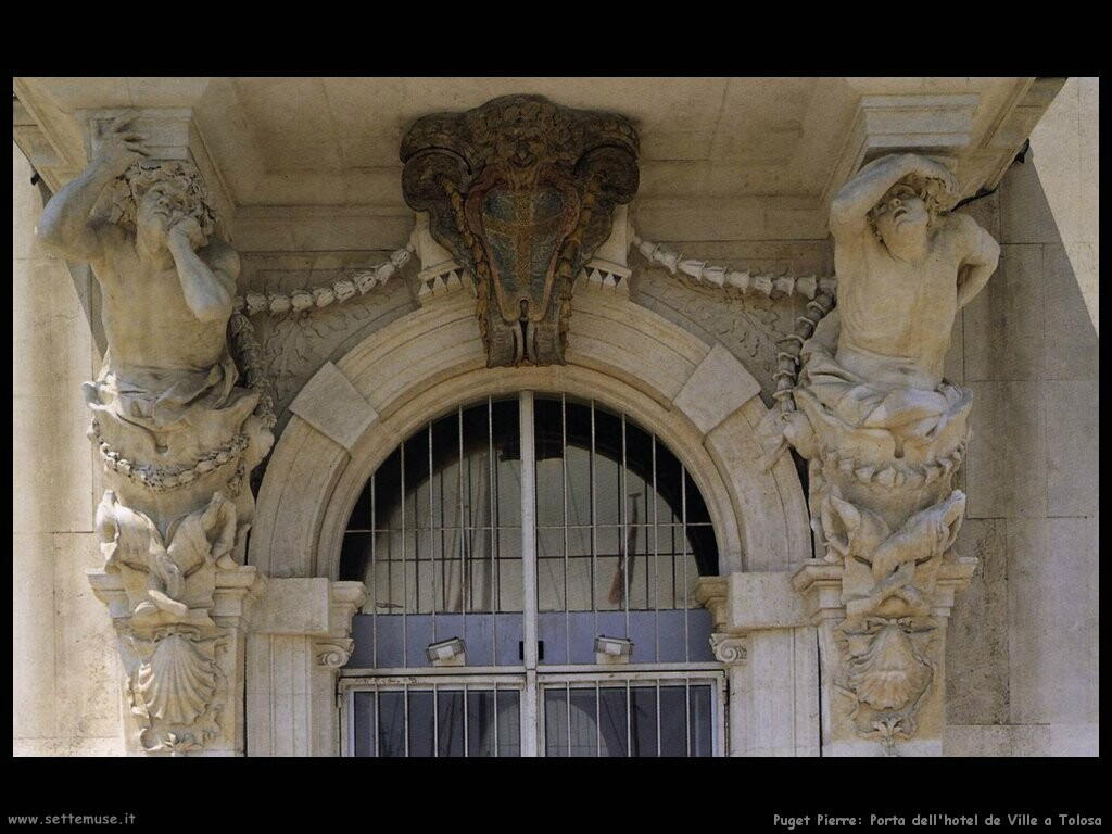 puget_pierre_Porta dell'hotel de Ville a Toulose