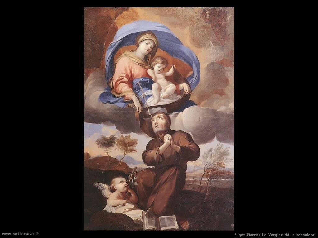 puget_pierre_La Vergine dona lo scapolare