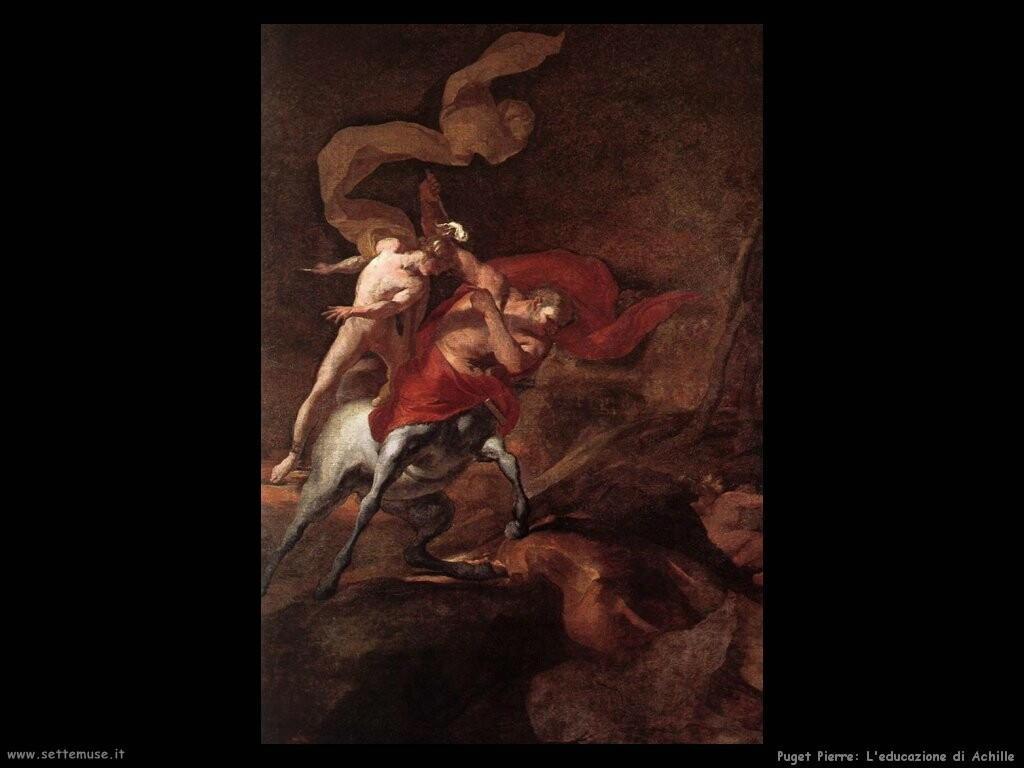 puget_pierre_L'educazione di Achille