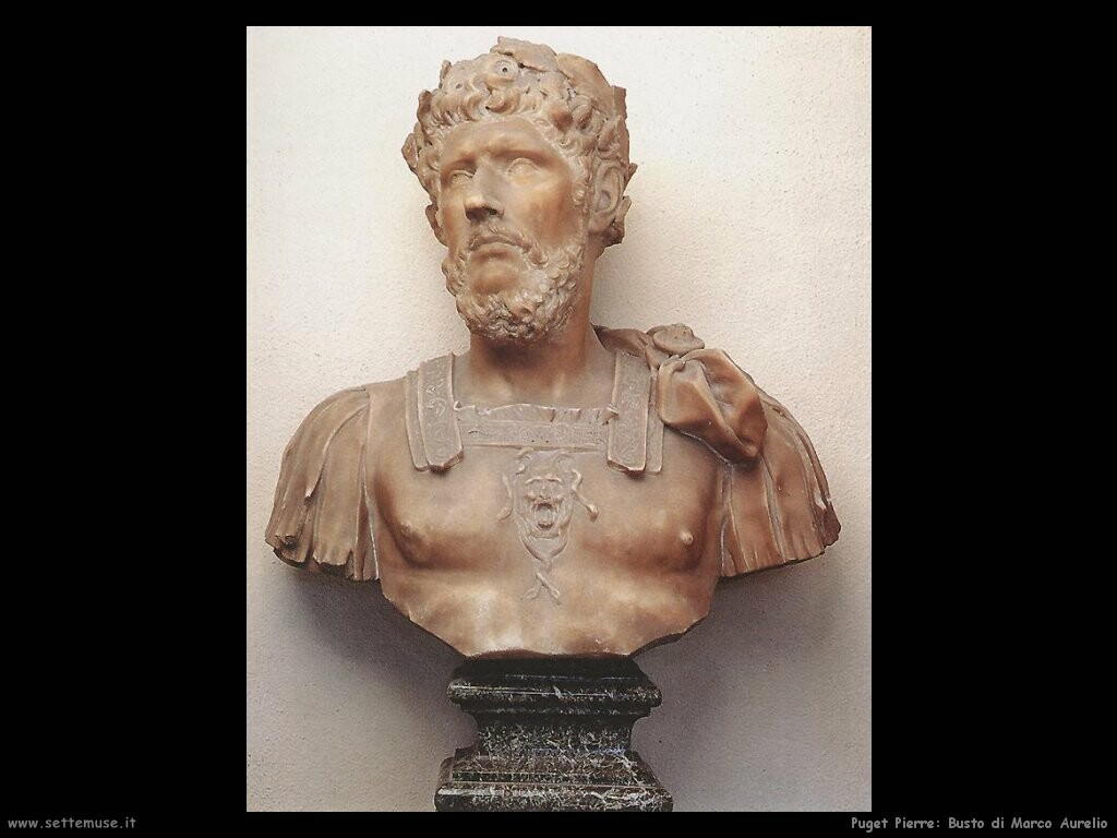 puget_pierre_Busto di Marco Aurelio