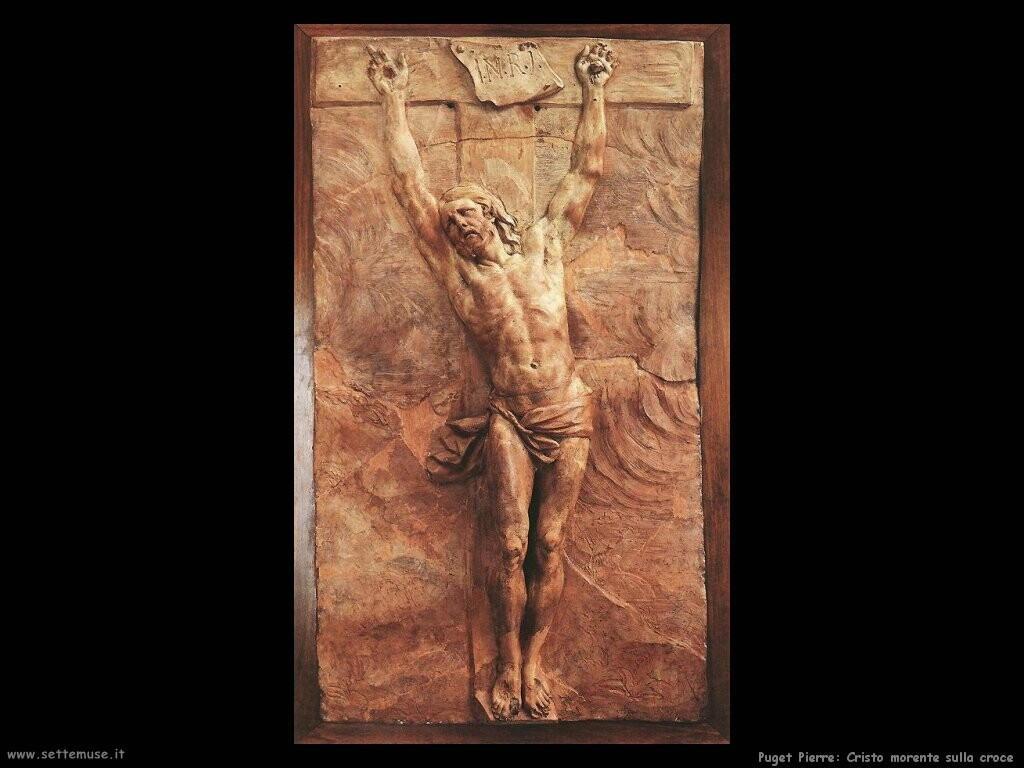 puget_pierre_Cristo giace sulla croce