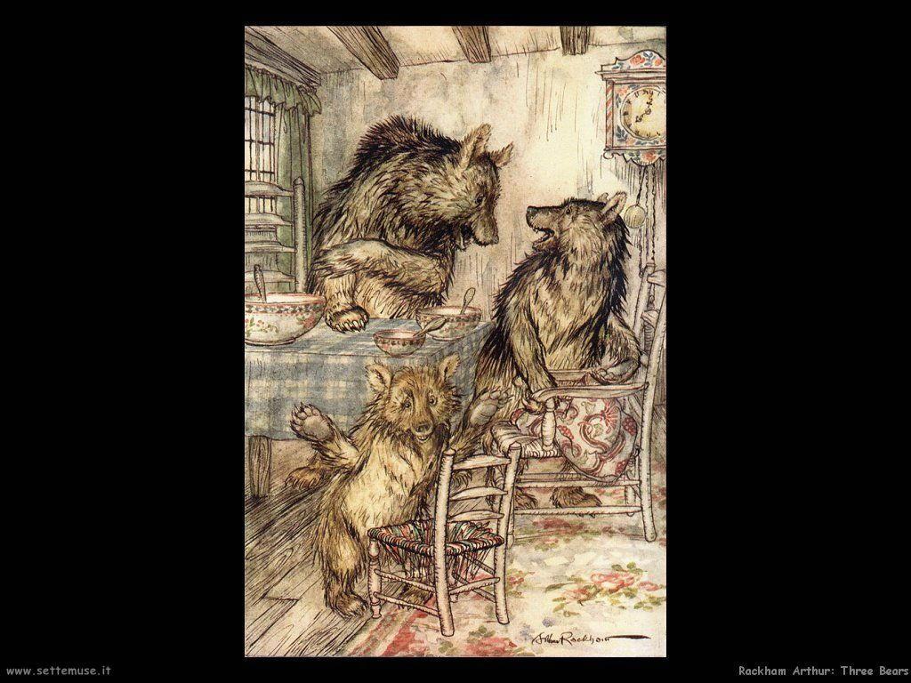 Rackham Arthur Three Bears