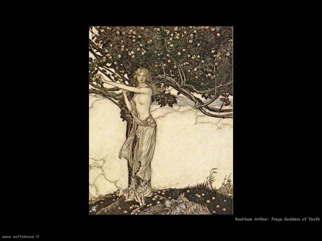 Rackham Arthur Freya Goddess of Youth