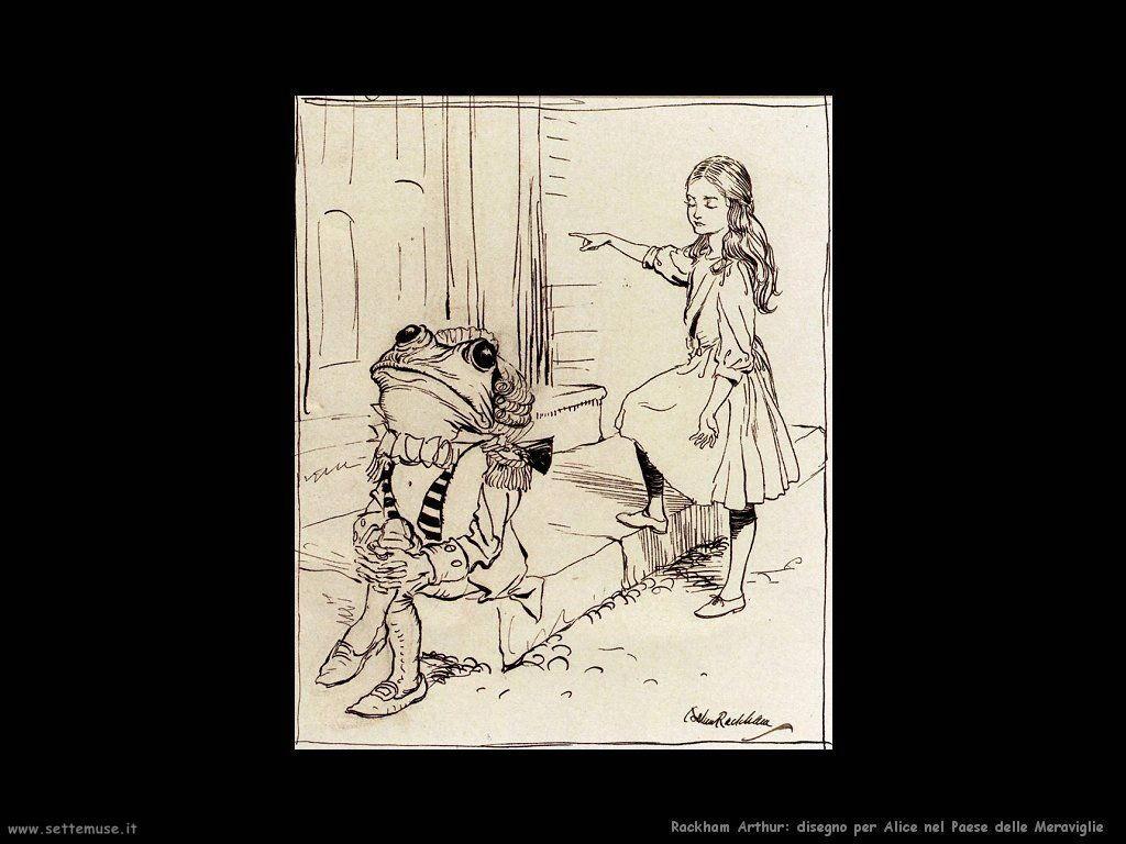 Rackham Arthur da: Alice nel Paese delle Meraviglie