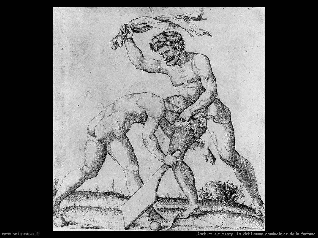 raimondi_marcantonio_La virtù come Domitor Fortunae