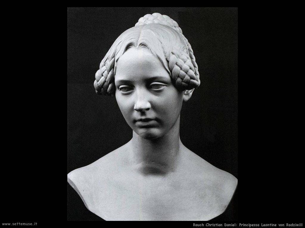 rauch christian daniel Principessa Leontine von Radiwill