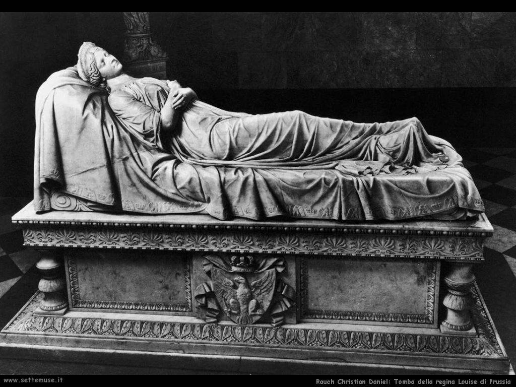 rarauch christian daniel Tomba della regina Louise di Prussia