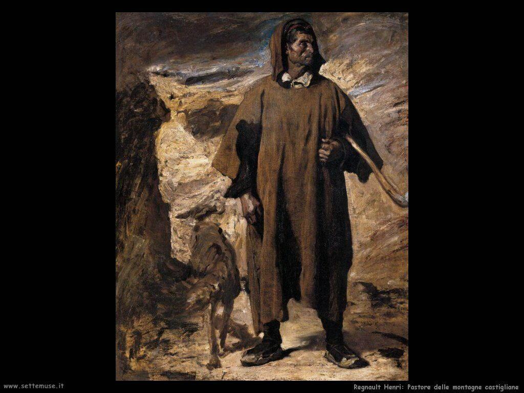 regnault henri Pastore delle montagne castigliane