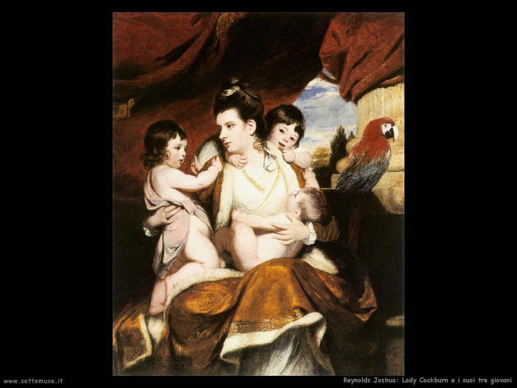 reynolds_joshua_Lady Cockburn e i suoi tre figli più vecchi