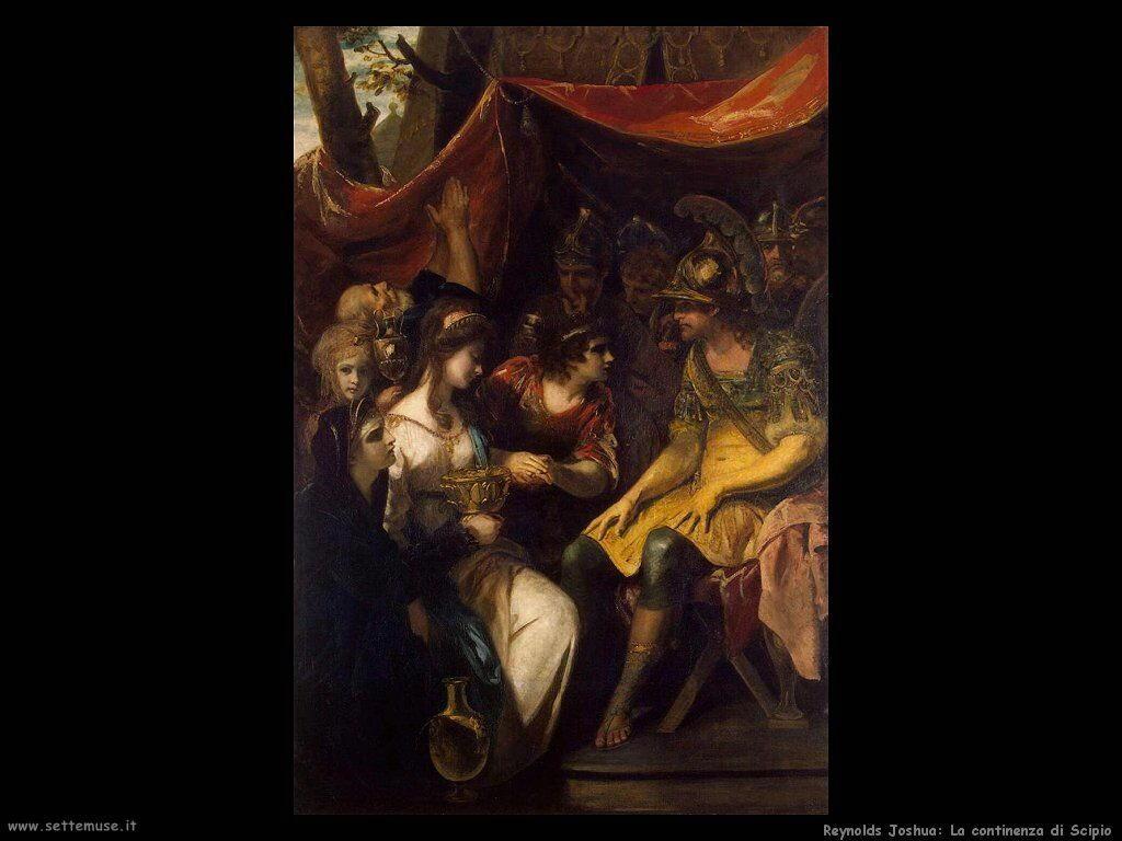reynolds joshua_Continenza di Scipio