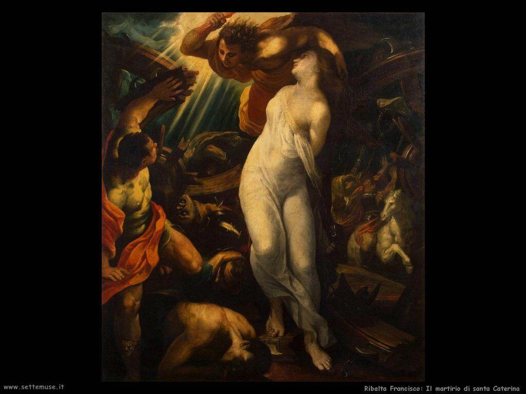 ribalta_francisco_Martirio di santa Caterina