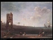 ricci_marco Vista della costa con torre