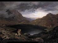 richter_adrian_ludwig_Pozza d'acqua sullo Riesengebirge