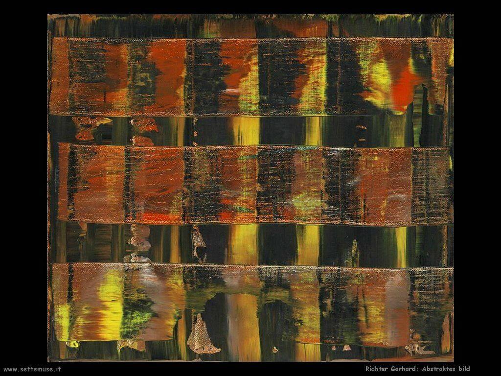 Richter Gerhard Abstraktes bild 1992