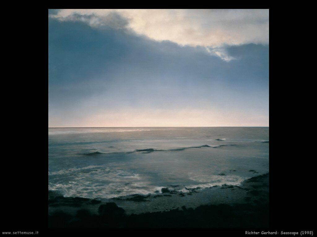 Richter Gerhard Seascape 1998