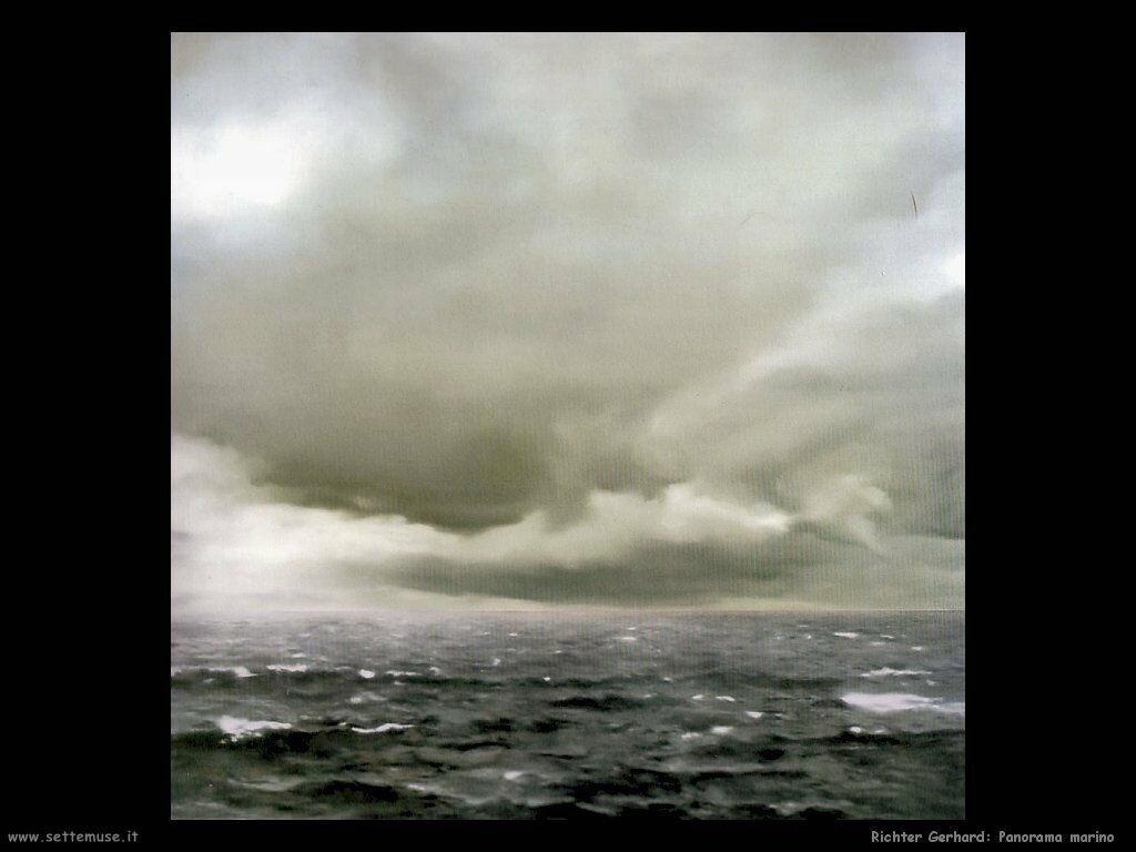 Richter Gerhard Panorama marino